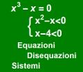 Equazioni - Disequazioni - Sistemi