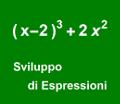 Sviluppo di Espressioni
